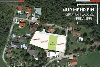 UNTERWEITERSDORF: Nur noch 1 Grundstück frei!