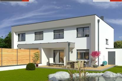 Doppelhaushälfte aus Ziegel+Grund in Ohlsdorf ab € 342.734,-
