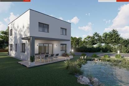 Modernes Ziegelmassivhaus+Grund in Rüstorf ab € 318.605,-