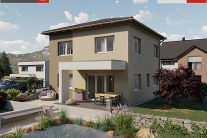 Bad Hall - Ziegelhaus ab € 361.210,- inkl. 790 m² Grund