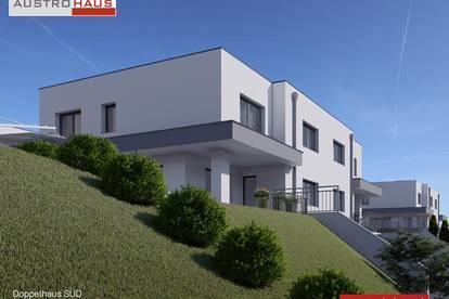 Doppelhaushälfte Süd aus Ziegel in Katsdorf ab € 439.654,-