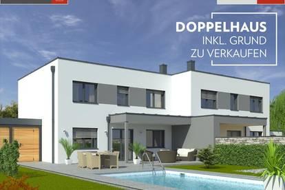 Leombach: Doppelhaushälfte+Grund ab € 326.020,-