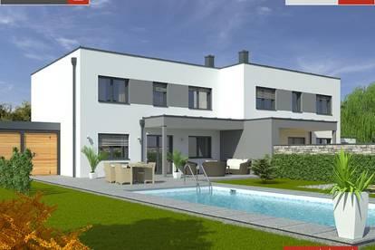 Verkaufsstart St.Pantaleon: Doppelhaus+Grund ab € 329.000,-