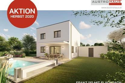 Jetzt Ziegelmassivhaus+Grund in Regau ab € 344.038,- sichern