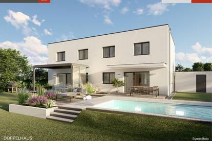 Ebergassing: Doppelhaushälfte + Grund ab € 285.989,-