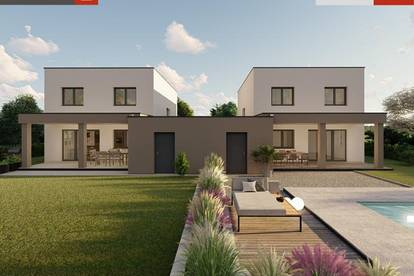 Doppelhaus + Garage+ 453 m² Grund in Pucking ab € 409.045,-