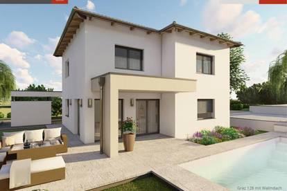 Ziegelhaus inkl. 1.082 m² Grund in Bad Hall ab € 459.640,-