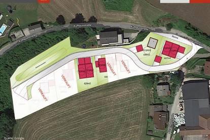 Grundstück mit Ziegelhaus & Keller in Pinsdorf ab € 399.500