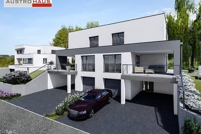 Doppelhaus aus Ziegel inkl. Grund in Leonding ab € 737.440,-