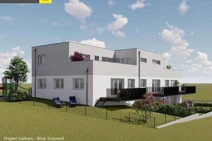 Kallham: Penthousewohnung mit 30 m² Terrasse ab € 352.500,-