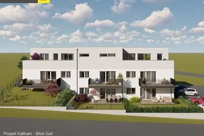 Kallham: Eigentumswohnung mit 122 m² Garten ab € 322.500,-