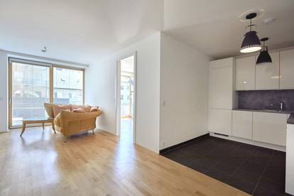 gemütliche, helle 2-Zimmer-Wohnung mit Eigengarten