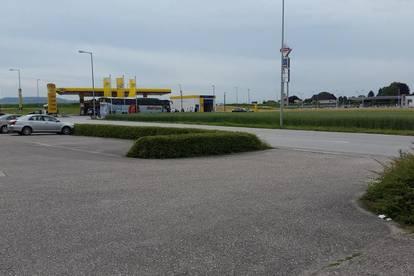 Autoplatz + Waschanlage direkt an der Autobahn A1