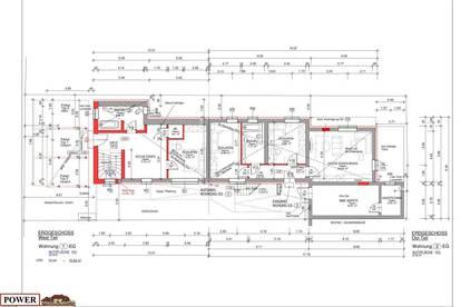 3 Zi. Erdgeschosswohnung Erstbezug !! Auch für Anleger !!