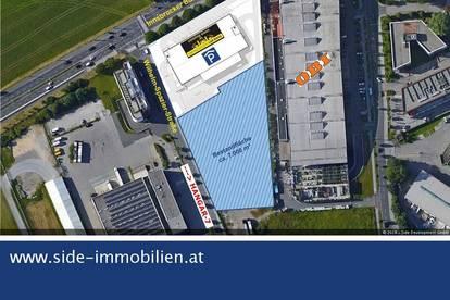 direkte Nähe Salzburger Flughafen und Hangar-7 - Gewerbegrundstück in TOP-Lage