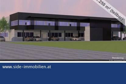 A2 Exit Traiskirchen - moderne Mehrzweckhalle (Neubau) ab Sommer 2021 zu mieten