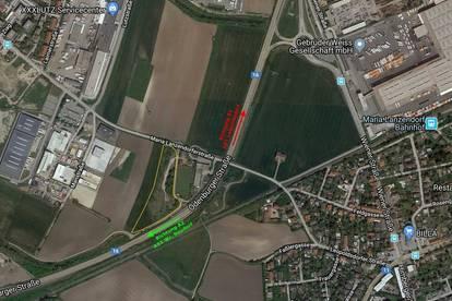 Leopoldsdorf: Betriebsbaugrundstück in hervorragender Lage nahe S1 zu kaufen