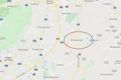 Münchendorf: Betriebsbaugrundstücke im Gewerbegebiet ab ca. 2.750 m² zu kaufen