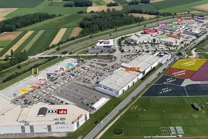 Asparn bei Tulln: Gewerbegrundstücke ab 3.000 m² in TOP Frequenzlage langfristig zu mieten