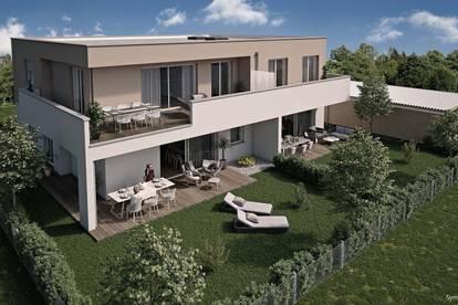 Maisonette-Gartenwohnung in Steinhaus bei Wels - Neubau - sonnige Ruhelage - jetzt informieren!