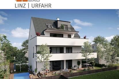 Neubau - Dachgeschoßwohnung am Linzer Auberg - mit großzügiger Dachterrasse - nur 3 Wohnungen - mit Lift