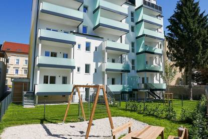 ERSTBEZUG - generalsanierte Altbauwohnung mit Balkon & Eigengarten - PROVISIONSFREI