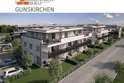 """Gunskirchen - """"Zusperren und ungebunden sein"""" - Helle Dachterrassenwohnung mit sehr großer Dachterrasse in Zentrumslage"""