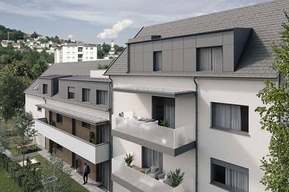 NEU - Linz | Urfahr - Neubau mit Tiefgarage und Lift - Gartenwohnung mit perfekter Infrastruktur!