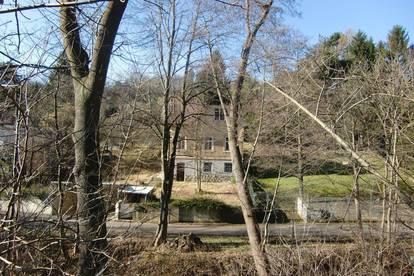 Wirkliche Rarität! Traumhaftes 6.315 m² Grundstück mit 919 m² Bauland in idylischer Naturoase