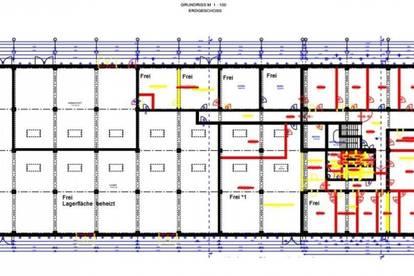 Lagerflächen im Innen- und Außenbereich in verschiedenen Größen ab SOFORT zu vermieten! Im Außenbereich ab € 1,50/m² !!!!!