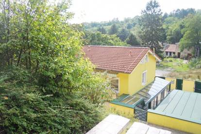 Gepflegtes Einfamilienhaus auf Eigengrund - nur 800 mtr. vor der Wiener Stadtgrenze