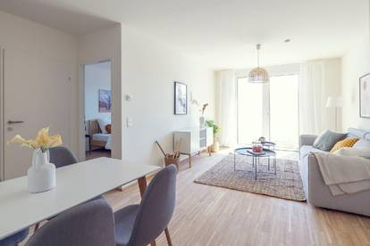 Unbefristete geräumige 2-Zimmer Wohnung mit Balkon -PROVISIONSFREI