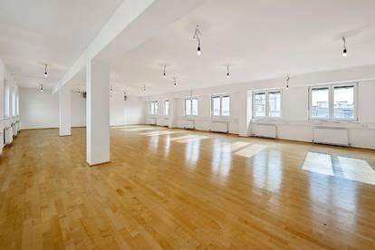 Open Space Bürofläche mit 3 Terrassen in 1050 zu mieten