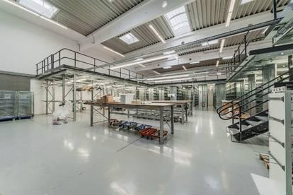 Hochwertig ausgestattete Lagerfläche mit Rolltoren und Rampen im Concorde Business Park zu mieten