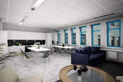 Moderner Büroneubau am Franzosengraben