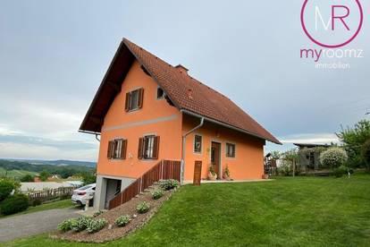 Einfamilienhaus in sonniger Lage mit Aussicht in St. Anna am Aigen/Nähe