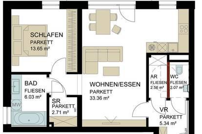 Mietwohnung mit Garten in Traun / Zentrum