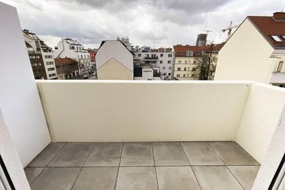 Provisionsfrei: helle Balkonwohnung | U1 Kagraner Platz