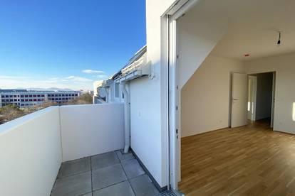 Provisionsfrei: Erstbezug: 3-Zimmer-Wohnung mit Balkon - U1 Kagraner Platz