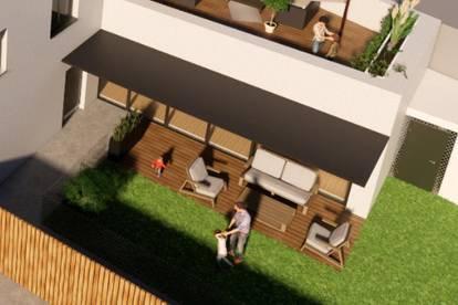 Erdgeschosswohnung mit großzügigem Eigengarten
