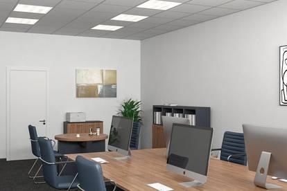 Topbüros in Linz / Hörsching ab 15,10m² - 117m² zu vermieten.