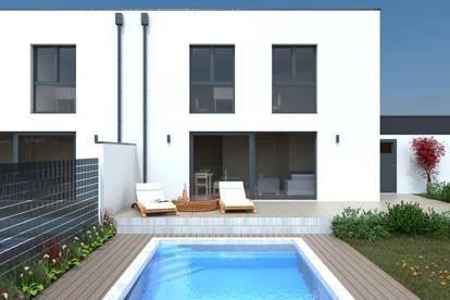 Exklusive Doppelhaushälften mit Swimmingpool in Gunskirchen! Provisionsfrei!