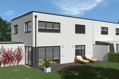 Baubeginn erfolgt: DHH inkl. Keller und Extras (Letzte Einheit)