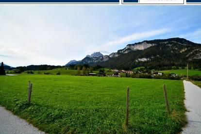 Traumhaftes Grundstück mit Blick auf den Wilden Kaiser in St:Johann in Tirol