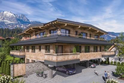 Neubau - Erdgeschosswohnung im Zentrum von St. Johann in Tirol