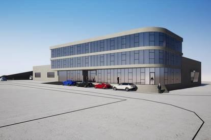Neubauprojekt mit hochwertigen Gewerbeflächen