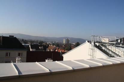 Anlegerwohnung mit Terrasse im Dachgeschoß