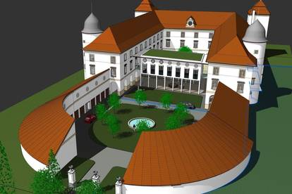 Genießen Sie Ihren Wohntraum im Schloss Losensteinleiten auf 128 m² - PROVISIONSFREI!