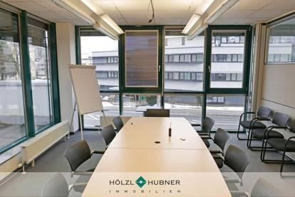 Gepflegtes Büro mit flexiblem Raumkonzept