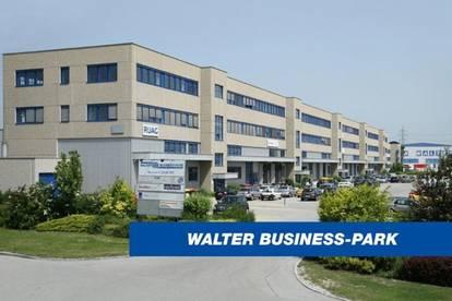 39 m² Büro & 247 m² Lager mit niedrigen BK im WALTER BUSINESS-PARK - provisionsfrei!